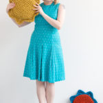 Sun & Flower Pillows – Free Crochet Pattern