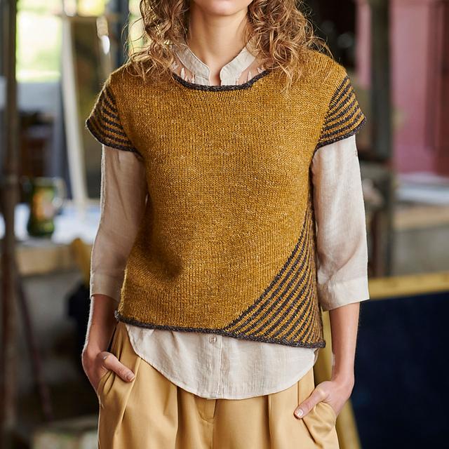 Sanremo knitting pattern by Carol Feller