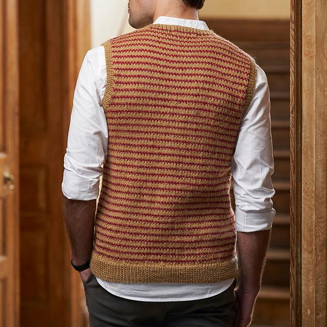 Stanley knitting pattern by Pat Menchini