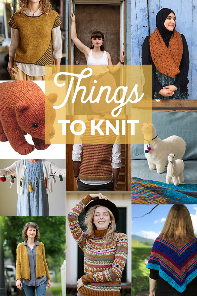 Fall knitting patterns have started to arrive! Find ten queue-worthy patterns in a new edition of Things to Knit.