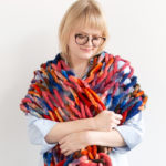 The 45-Minute Wrap – Free Arm Knitting Pattern