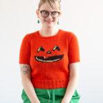 Jack-O'-Lantern Sweater / Handmade Wardrobe