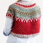 A Christmasy Soldotna Crop / Handmade Wardrobe