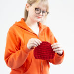 Triangle Rib Baby Hat for Charity Knitting (plus a Charity KCAL!)