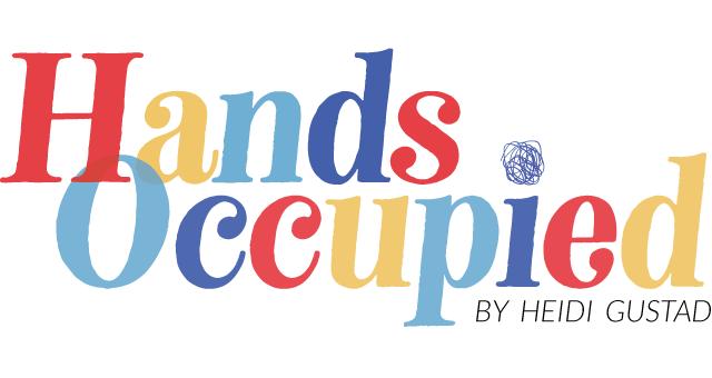 Hands Occupied logo by Heidi Gustad ©2020