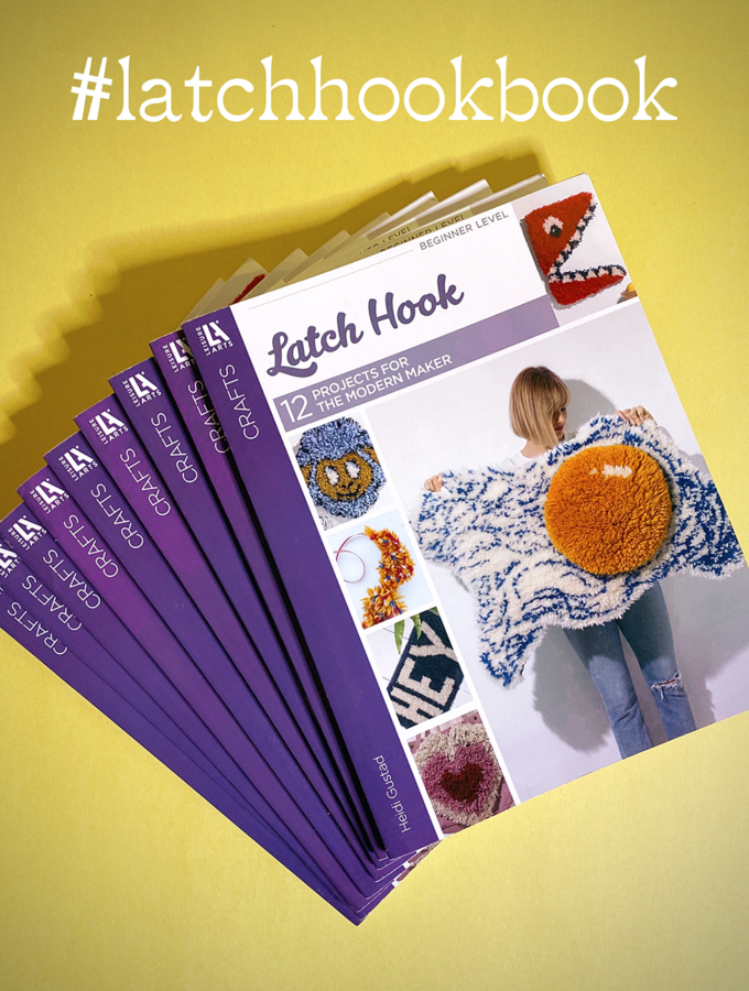 Latch Hook: 12 Projects for the Modern Maker by Heidi Gustad, now available!