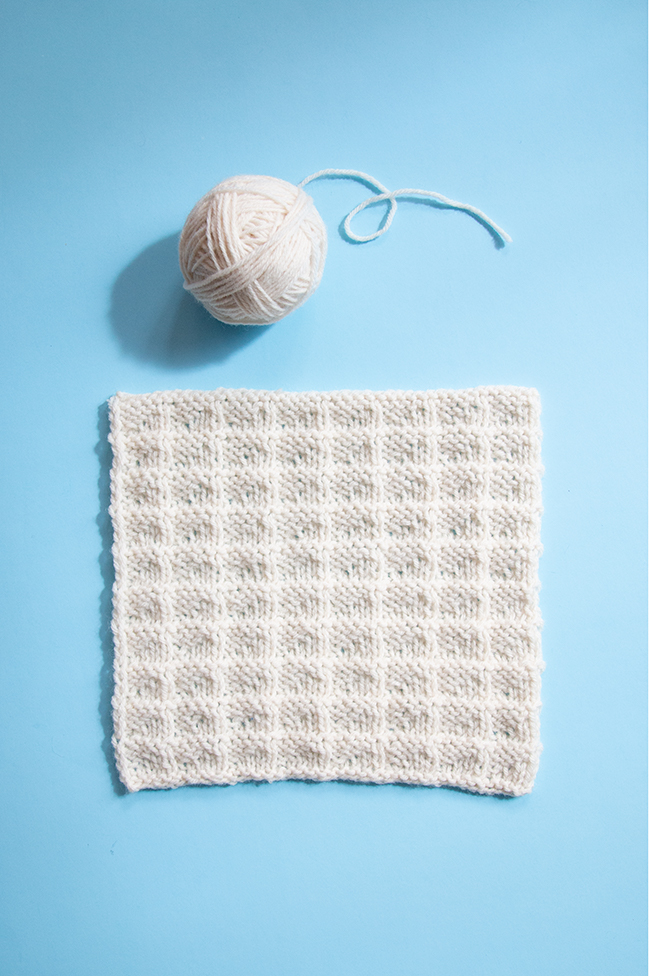 Learn how to knit Square 20 of the Traveling Knit Afghan featuring the triangle rib stitch. Free pattern and video tutorial available!