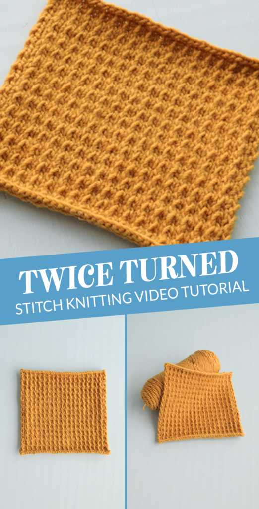 Heidi from Hands Occupied walks you through how to knit the Twice Turned Stitch in a video tutorial. Using a combination of twisted and slipped stitches, this stitch knits up into a nice dense fabric that would be right at home in a warm sweater.