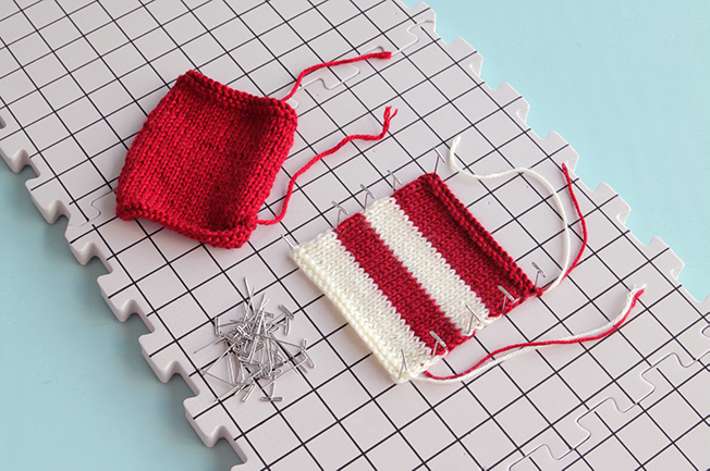 Wet blocking, also called immersive blocking, is one of the most common methods for finishing a knitting project and helping ensure its final size and shape. Learn basic blocking for absolute beginners in an easy-to-follow video tutorial.