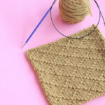Diamond Brocade Stitch Video Tutorial