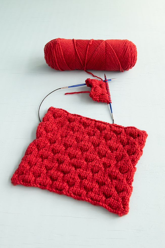 If you love a knitting stitch with a LOT of puffy texture, the Dimple Stitch is for you! Learn to knit this fun stitch that lives precisely up to its name in a new video tutorial.